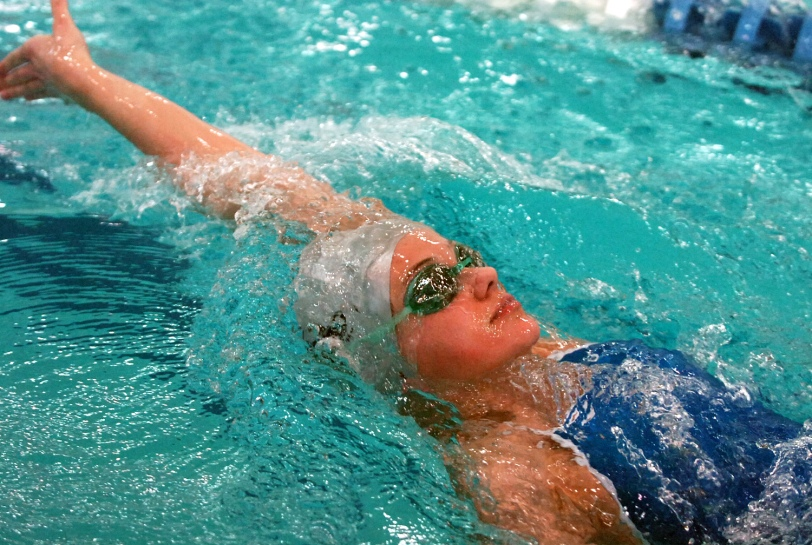 Episcopal Academy freshman Sarah Baturka and her teammates will be tested Monday by Germantown Academy in the premier dual meet of the season. (Times Staff / JULIA WILKINSON)
