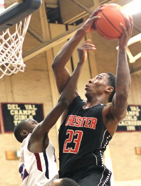 Rondae Jefferson and Chester stay on top of the Class AAAA rankings.TIMES STAFF/ROBERT J. GURECKI