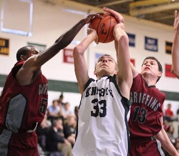 Austin Fischer, seen here last year in a game against Church Farm, was named the 2012-13 Bicentennial League Constitution Division Player of the Year. TIMES STAFF/ROBERT J. GURECKI