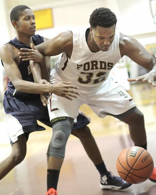Kyleel Cosby and Sema'j Reed are looking up at Germantown Academy in the Inter-Ac standings. TIMES STAFF/ROBERT J.GURECKI
