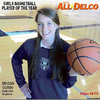 Reigning Daily Times Player of the Year Megan Quinn highlights the Delco contingent at the All-Star Labor Classic.TIMES STAFF/JULIA WILKINSON