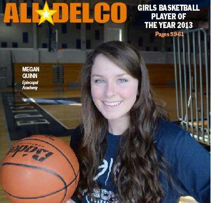 For the second year in a row, The Episcopal Academy center Megan Quinn is the Daily Times Player of the Year.TIMES STAFF