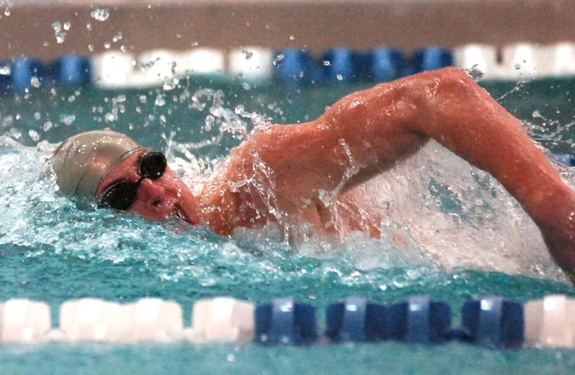 Haverford School boys swimmer of the year Jimmy Jameson. (Times Staff/JULIA WILKINSON)