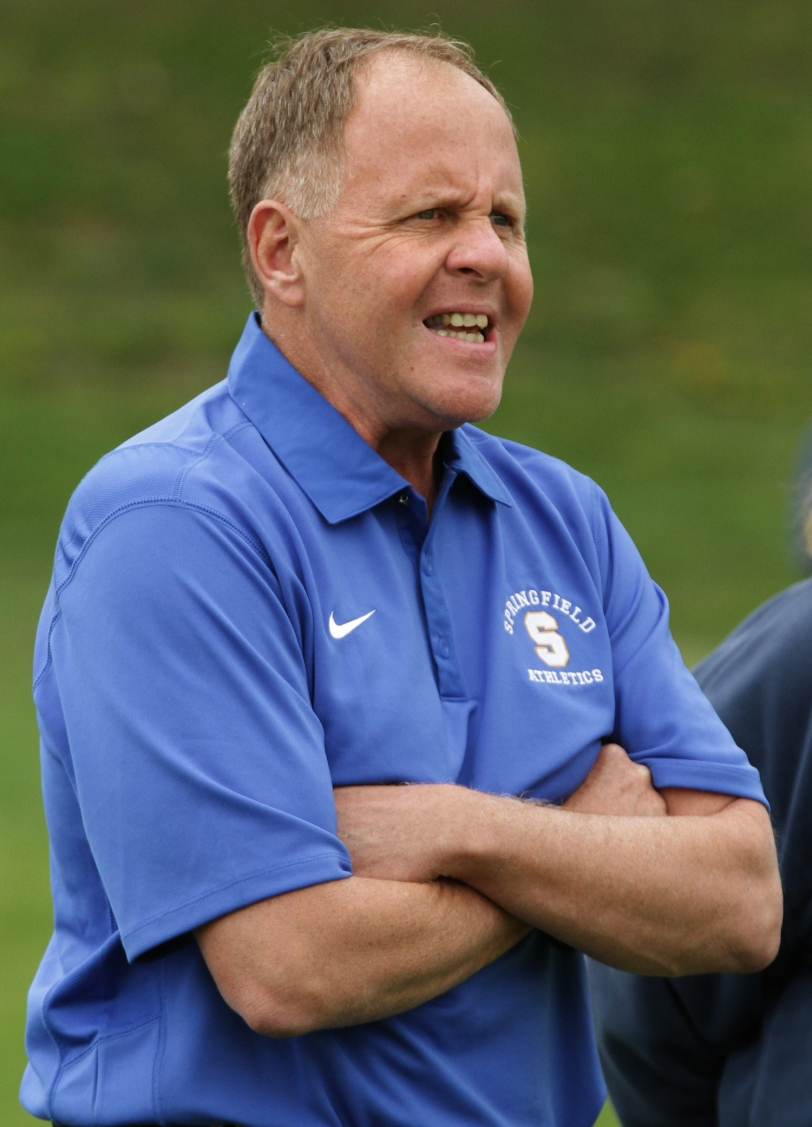 Springfield coach Keith Broome has 300 career wins and the No. 1 spot in the Super 7.  TIMES STAFF/ROBERT J. GURECKI