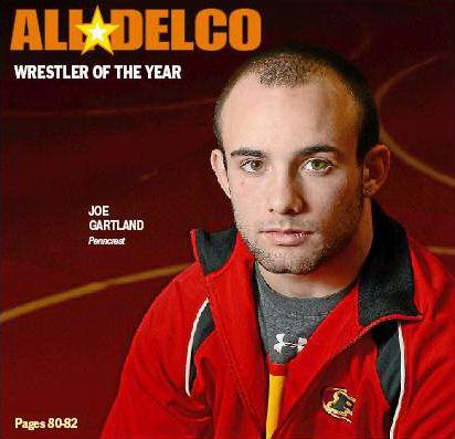 Penncrest senior Joe Gartland is the Daily Times Wrestler of the Year.TIMES STAFF