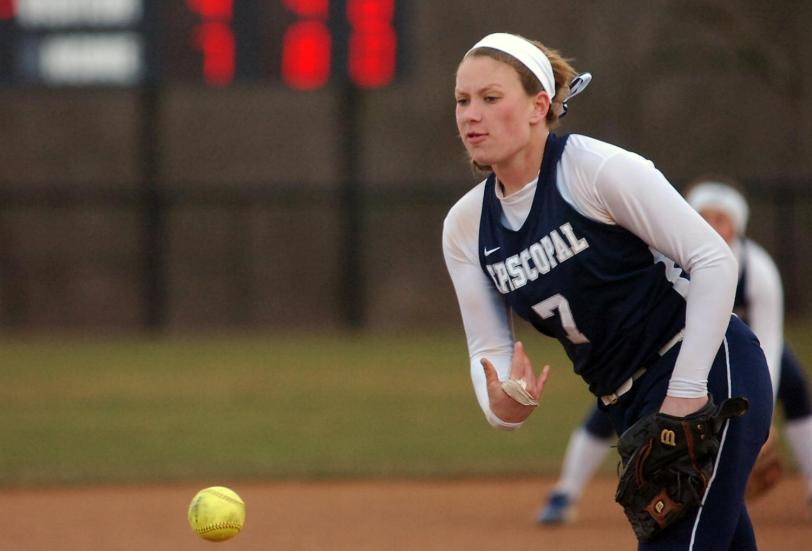 Episcopal Academy junior pitcher Alex Viscusi gave her verbal commitment to Princeton in February.
