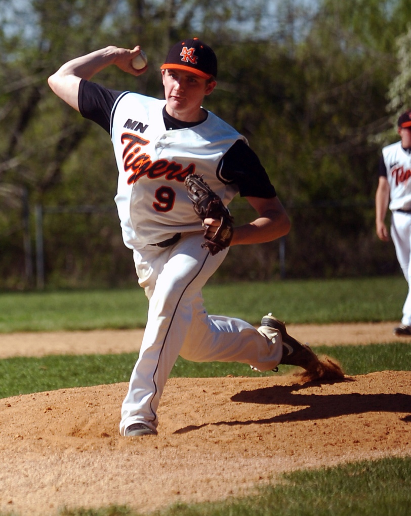 Marple Newtown pitcher Ciaran Cahalane is among the arms the Delco Carpenter Cup team has at its disposal. (Times Staff / JULIA WILKINSON)