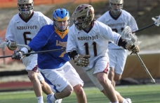 Peter Blynn, right, and The Haverford School tangle with Episcopal Academy in tonight's Inter-Ac Invitational semifinal.  PHOTO COURTESTY OF TOPLAXRECRUITS.COM