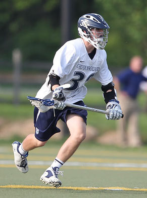 Will Episcopal Academy's Matt Ernst claim the first All-Delco FOGO spot? He'll have stiff competition. PHOTO COURTESY OF PHILLYLACROSSE.COM