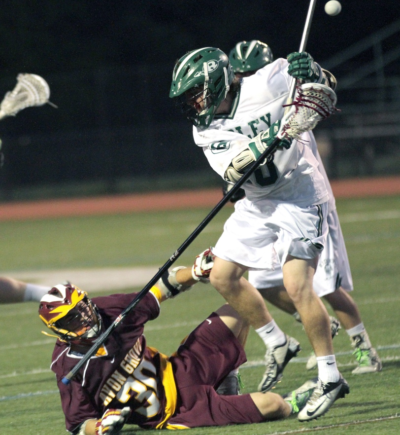 Ridley and Kelton Heverly didn't do this nearly enough to Avon Grove. TIMES STAFF/ROBERT J. GURECKI