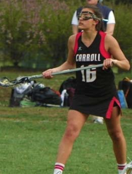 Can anyone stop All-Delco Natalie Schmitt and Archbishop Carroll in the Patriots' quest for their 13th straight title?  PHOTO COURTESY OF PHILLYLACROSSE.COM