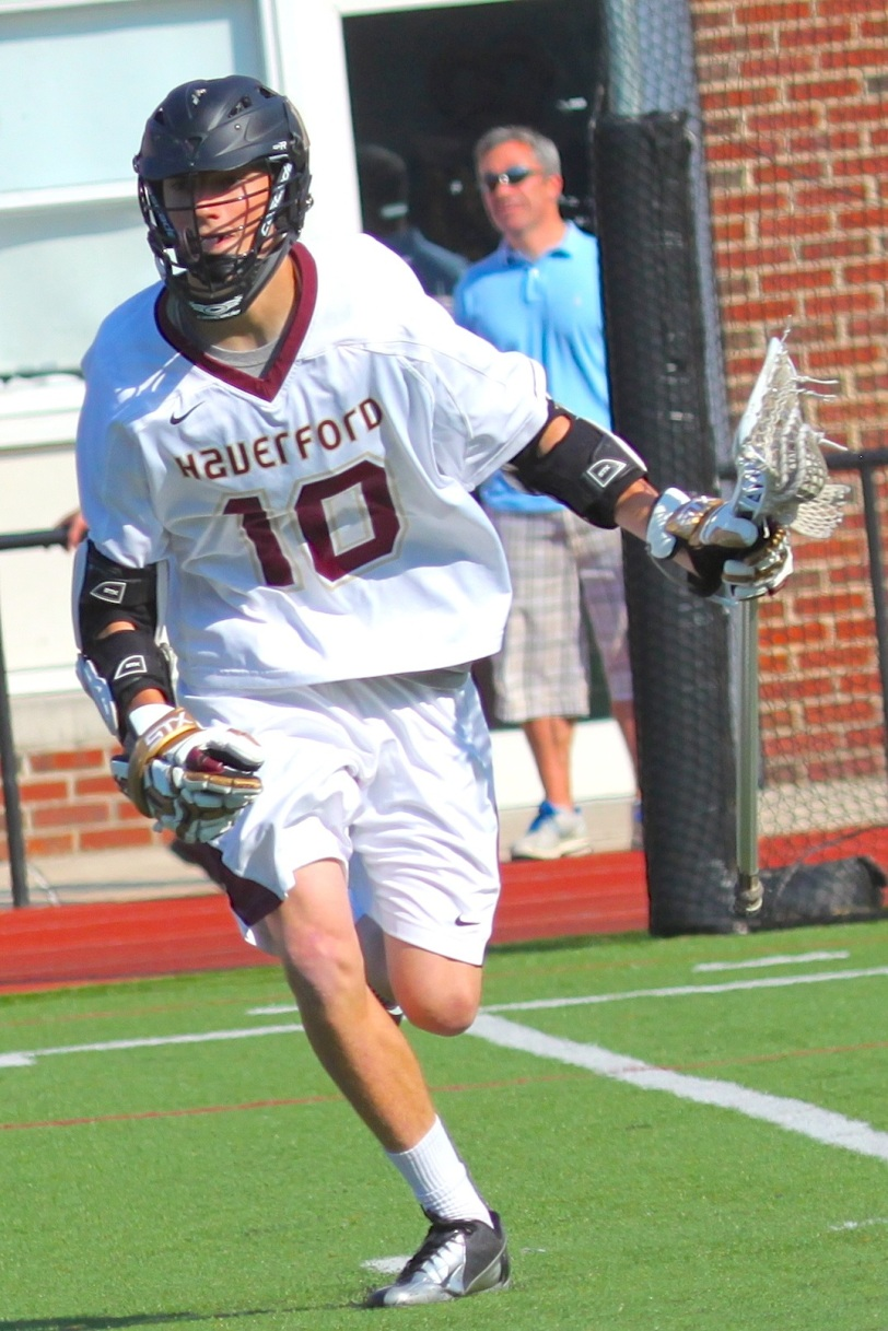Kip Taviano's impact was felt both on and off the field at The Haverford School. PHOTO COURTESY OF LISA AMENT