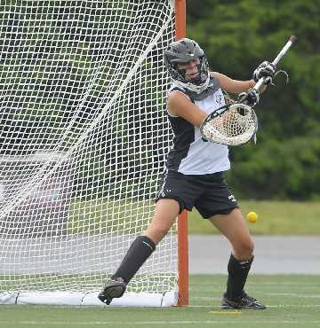Is Hallie Yancey the top goalie in Delco?  TIMES STAFF/ERIC HARTLINE