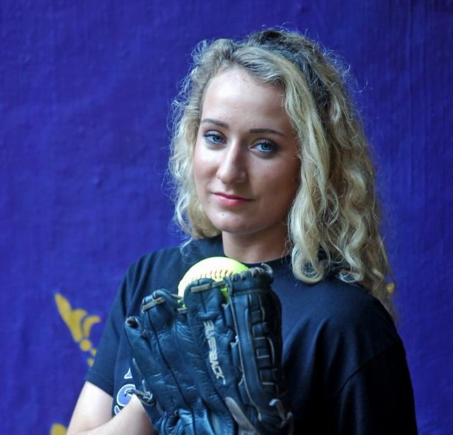 Upper Darby's Savannah Nierintz is the 2013 Daily Times Softball Player of the Year. TIMES STAFF/JULIA WILKINSON