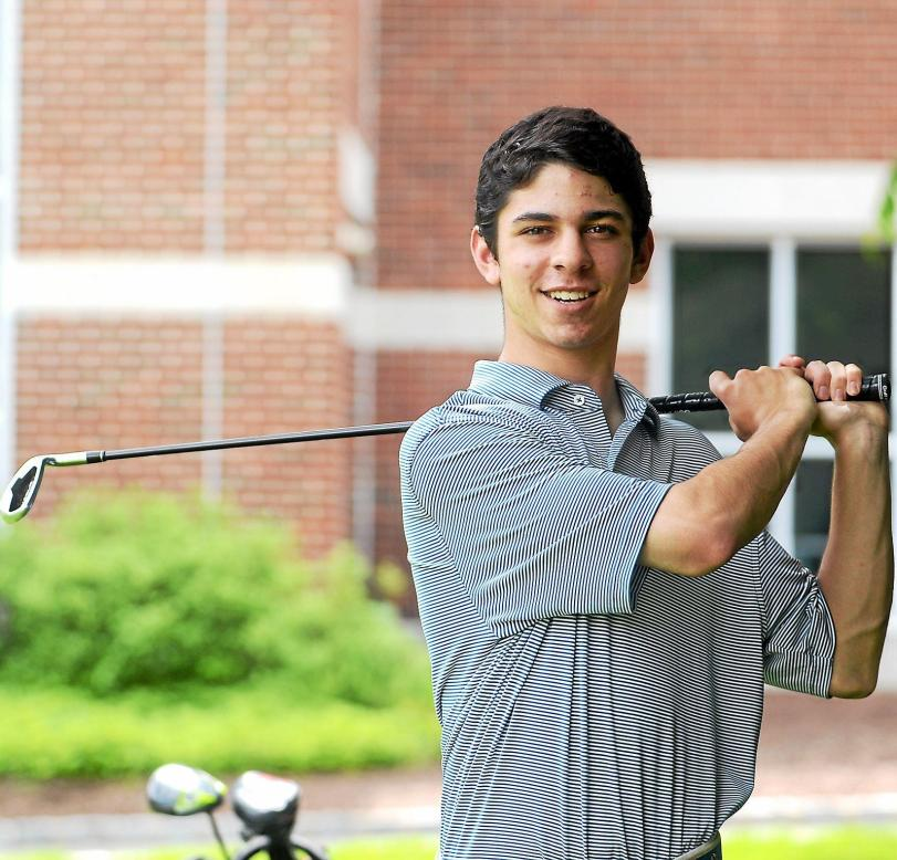 The Haverford School's Cole Berman is the 2013 Daily Times Golfer of the Year. TIMES STAFF/ROBERT J. GURECKI
