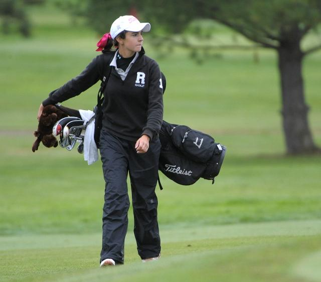 Radnor girls golf All-Delco Jamie Susanin and the Raiders were the only county team to win a PIAA title this year. TIMES STAFF/ERIC HARTLINE