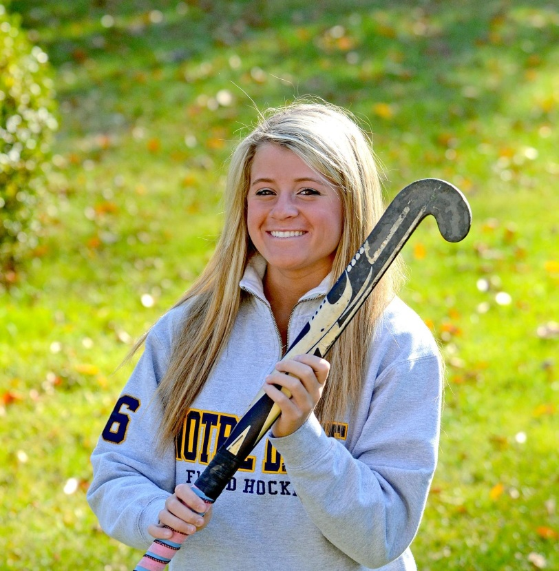 Notre Dame's Moira Putsch will be back to terrorize goalies again this year.  TIMES STAFF/JULIA WILKINSON