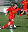 Penncrest midfielder Nathan Hughes led a stellar midfield effort over Springfield Tuesday. (Times Staff / JULIA WILKINSON)