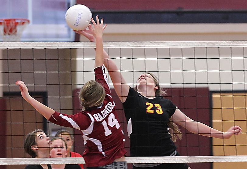Amanda Hunt, right, and Penncrest are out to show that they can contend in the Central League. TIMES STAFF/ROBERT J. GURECKI