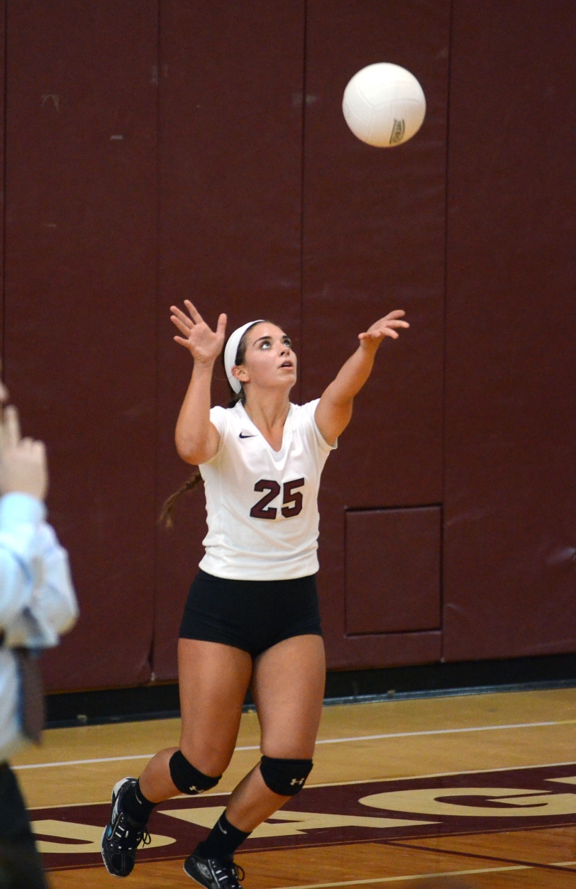 Garnet Valley libero Jenna Hostetler was at the heart of a big 3-1 win over Strath Haven. TIMES STAFF/JULIA WILKINSON
