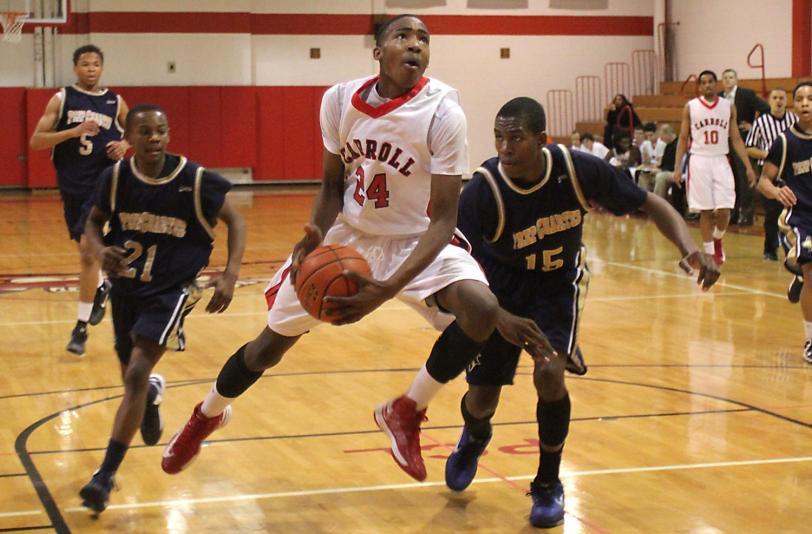 Derrick Jones is still good at basketball. TIMES STAFF/ROBERT J. GURECKI