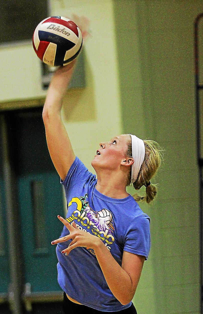 Strath Haven's Alice Roberts leads the Panthers. TIMES STAFF/ROBERT J. GURECKI