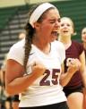 Garnet Valley's Jenna Hostetler made the all-state team TIMES STAFF/ROBERT J. GURECKI