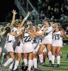 There was plenty for Cardinal O'Hara field hockey to celebrate about after beating Archbishop Carroll for the Catholic League title. TIMES STAFF/ROBERT J. GURECKI