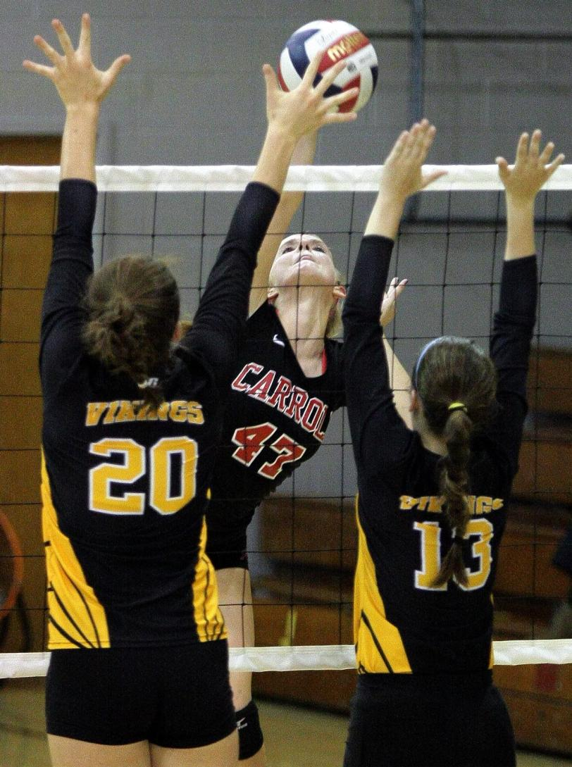 Archbishop Carroll's Sarah Layfield is a repeat All-Catholic selection.  PHOTO COURTESY OF BOB RAINES