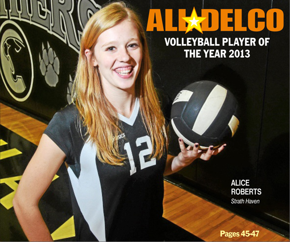 Strath Haven's Alice Roberts is the 2013 Daily Times Player of the Year. TIMES STAFF/JULIA WILKINSON