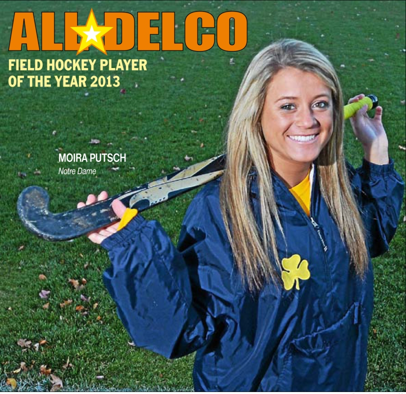 Notre Dame's Moira Putsch repeats as Player of the Year. TIMES STAFF/JULIA WILKINSON