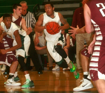 Ridley's Julian Wing has been one of the players to step up lately for the Green Raiders. (Special to the Times/ANNE NEBORAK)