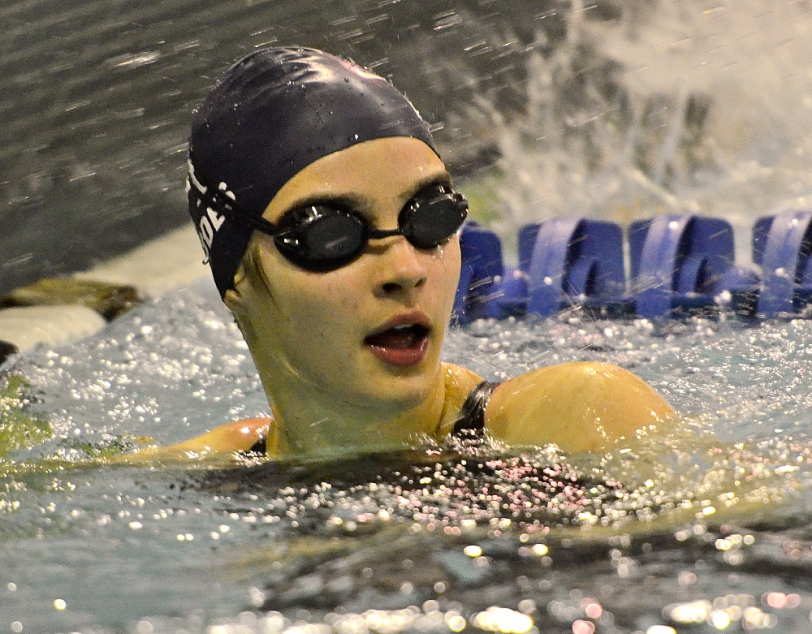Four-time All-Delco Emily Rhodes was among the biggest pieces in EA's success this year. (Times Staff/ERIC HARTLINE)