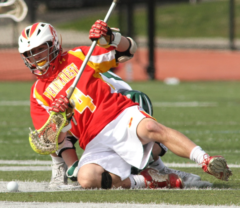 Dylan Protesto and Penncrest will play for a Central League title Thursday. (Times Staff/ROBERT J. GURECKI)