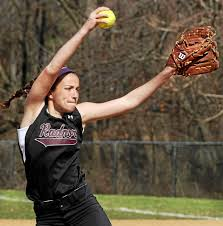 Radnor pitcher Izzy Schaefer is among the county leaders in wins (five) and shutouts (two) for the Central League-leading Raiders.