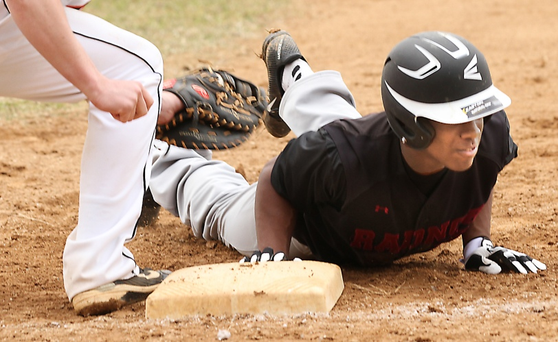 Radnor's Connor Wilson is sliding into the Big 26 Classic, one of PA's premier baseball showcases for underclassmen. (Times staff/ROBERT J. GURECKI)