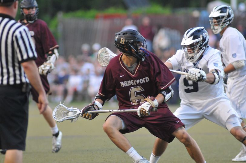 Haverford School's Dox Aitken was named the top lacrosse prospect in the nation by Inside Lacrosse Magazine. (Times File)