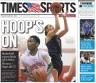 Archbishop Carroll's Josh Sharkey and Cardinal O'Hara's Mary Sheehan grace the cover of Friday's basketball preview. (Times Staff/RICK KAUFFMAN