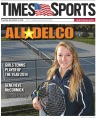 Episcopal Academy senior Genevieve McCormick is the 2014 Girls Tennis Player of the Year. (Times Staff/TOM KELLY IV)
