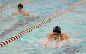 Both Penncrest's Philip Nawn, left, and Garnet Valley's Ivan Michalovic figure prominently in the Delco top times list. (Daily Times/TOM KELLY IV)