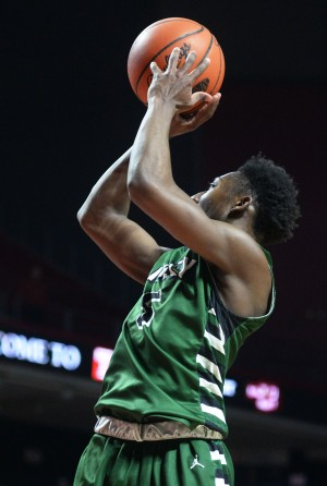 Ridley's Brett Foster, shooting against Plymouth Whitemarsh in the District One Class AAAA semifinals, earned Central League Player of the Year honors for helping lead the Green Raiders to a league title. (Times Staff/TOM KELLY IV)