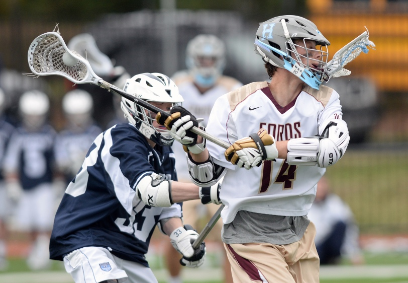 Forry Smith and Haverford School are firing on all cylinders. (Times Staff/TOM KELLY IV)