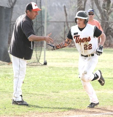 Marple Newtown's Ricky Collings: Slugger, closer. (Times Staff/ROBERT J. GURECKI)