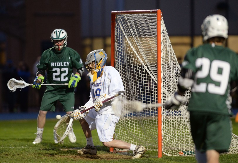 Goalie James Spence is among the reasons why Springfield is rising high in this week's rankings. (Times Staff/TOM KELLY IV)