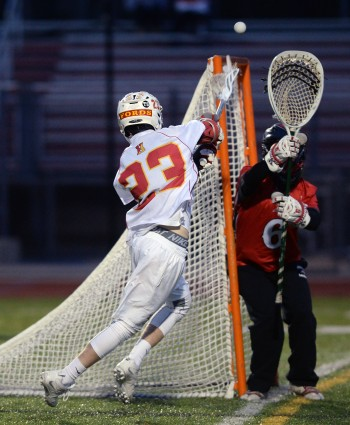 Haverford High's Bob McClure, left, sits fourth in Delco with 60 points this season. (Times Staff/TOM KELLY IV)