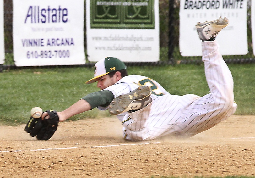Billy Myers and Bonner-Prendergast got close Monday in a 3-2 loss to La Salle, but as they have much of the season, they haven't been able to finish the deal. (Times Staff/ROBERT J. GURECKI)