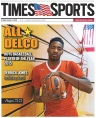 Archbishop Carroll's Derrick Jones is the 2014-15 Daily Times Boys Basketball Player of the Year. (Times Staff/RICK KAUFFMAN)