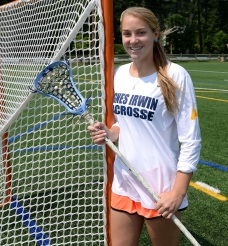 Agnes Irwin's Hannah Keating is the 2015 Girls Lacrosse Player of the Year. (Times Staff/TOM KELLY IV)